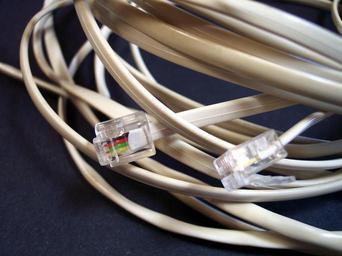 Kabel k internetovému připojení