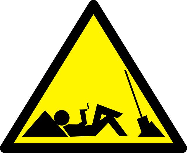 výstražná značka